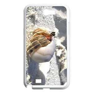 CHSY CASE DIY Design Beach Conch Pattern Phone Case For Samsung Galaxy Note 2 N7100