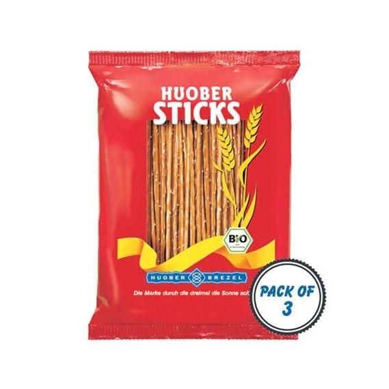 Huober Organic Salty Pretzel Sticks (175gm) - Pack of 3