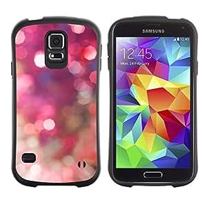 LASTONE PHONE CASE / Suave Silicona Caso Carcasa de Caucho Funda para Samsung Galaxy S5 SM-G900 / Sparkle Sparkly Gold Disco