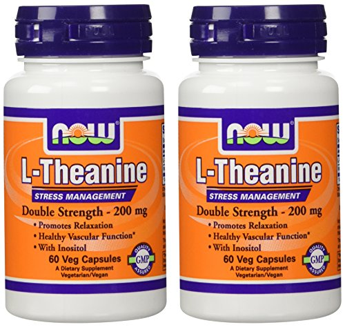 Foods L Theanine Veg Capsules 60 Count Pack