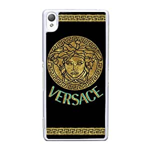 Sony Xperia Z3 White Cell Phone Case Versace Brand Logo Custom Case Cover A11U523258