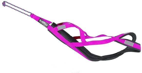 Neewa Sled Pro Harness (X-Large, Pink), Dog Pulling Harness, Husky Harness, Mushing Harness, X Back Harness Dog for Dog Exercise, Bikejoring, Skijoring, Dog Sledding, Canicross, Scootering