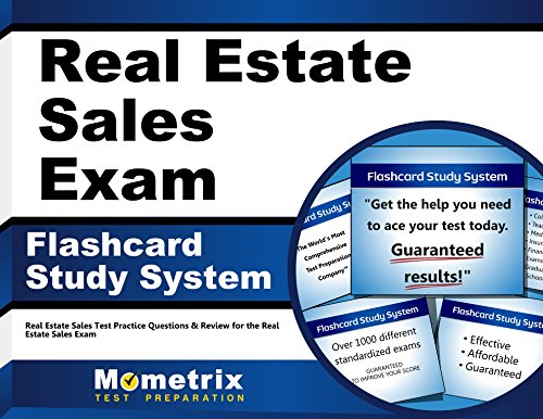 Real Estate Sales Exam Flashcard Study System: Real Estate Sales Test Practice Questions & Review for the Real Estate Sales Exam (Cards)