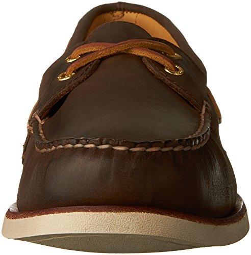 Sperry Herren Bootsschuh Gold 2-Eye Brown