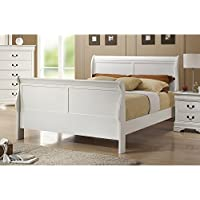 Coaster Headboard & Footboard-White