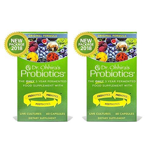 Dr. Ohhira's Probiotics - 60 caps Original Formula - 2 Pack