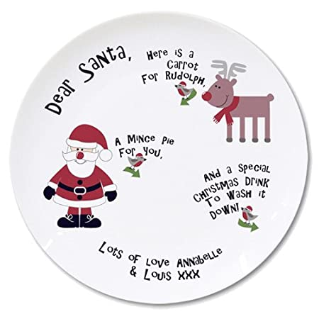 Personalised New Mince Pie Plate  sc 1 st  Amazon UK & Personalised New Mince Pie Plate: Amazon.co.uk: Kitchen u0026 Home