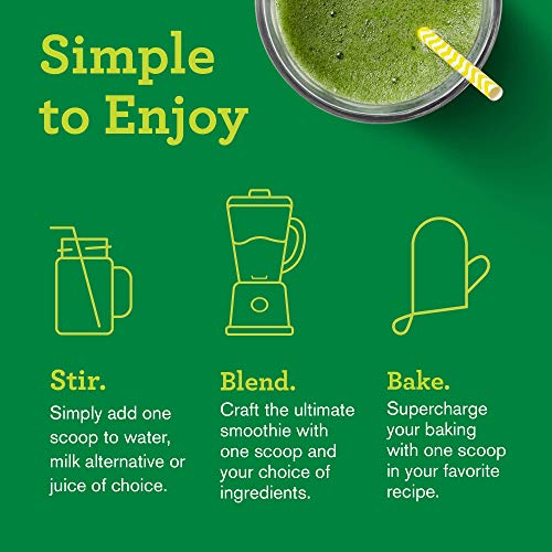 Amazing Grass Green Superfood: Super Greens Powder with Spirulina, Alfalfa, Digestive Enzymes & Probiotics, Original, 100 Servings 7