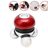 LIYUDL Vibrating Mini Body Massager - Battery Powered - Relax Massage Scalp Head Neck Shoulders Back - Hand Held Portable Personal Massaging, for Home Auto Travel.