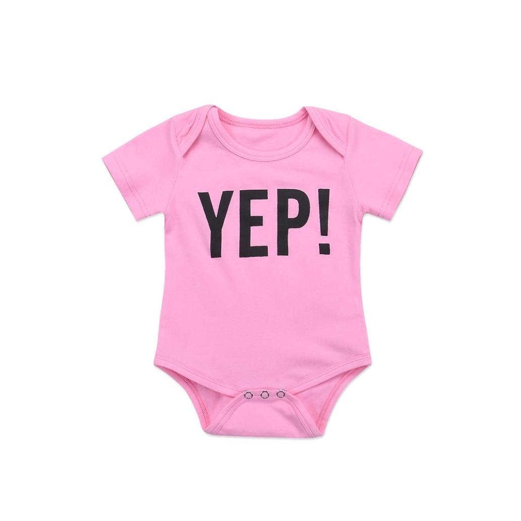 f4a9321c5f5 FEITONG Toddler Kids Newborn Infant Baby Girls Letter Sister Matching  Clothes T shirt Tops   Jumpsuit