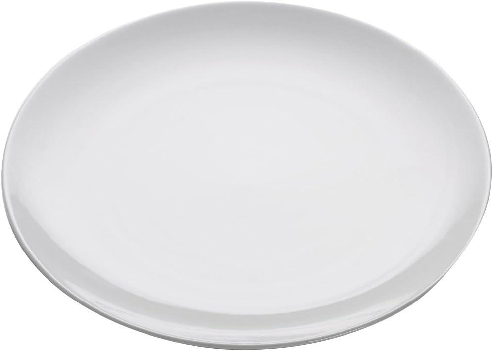 Maxwell /& Williams White Basics Porcelain Dinner Plate 27cm Diameter