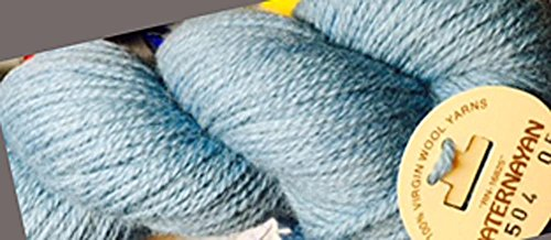 Paternayan Needlepoint 3 Ply Wool Yarn Color 504 Federal Blue