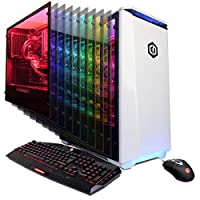 CYBERPOWERPC Gamer Supreme Liquid Cool SLC9160CPG Gaming PC (AMD Ryzen Threadripper 1950X 3.4GHz, 32GB, NVIDIA GeForce RTX 2080 8GB, 1TB SSD, 2TB HDD, 802.11AC WiFi & Win 10 Home) White