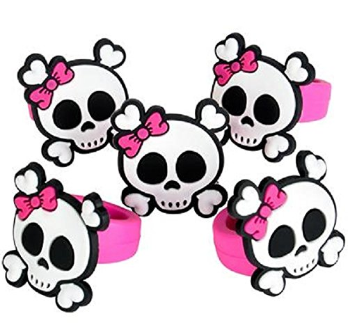 Oasis Supply Pink Pirate Cupcake Decorating Rings - 24 piece set