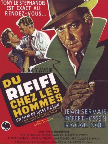 Amazon.com: Rififi Movie Poster (27 x 40 Inches - 69cm x 102cm) (1955)  French -(Jean Servais)(Carl Mohner)(Robert Manuel)(Jules Dassin): Home &  Kitchen