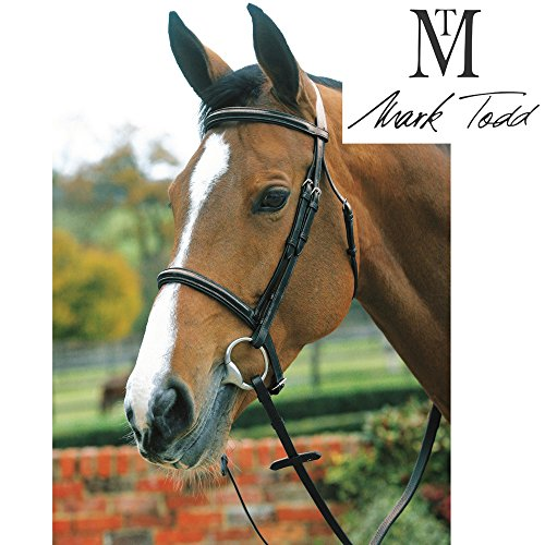 Mark Todd Plain Raised Bridle with Cavesson Noseband (Full) ()