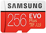 Samsung 256GB EVO Plus Class 10 UHS-I microSDXC U3 with Adapter