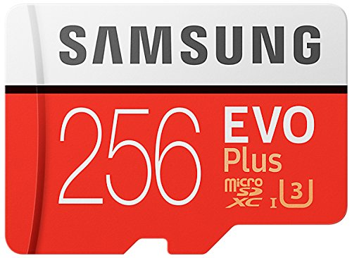 Samsung 256GB EVO Plus Class 10 UHS-I microSDXC U3 with Adapter (MB-MC256GA/EU)...