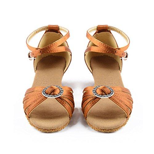 Miyoopark ,  Damen Tanzschuhe Brown-3.5cm Heel