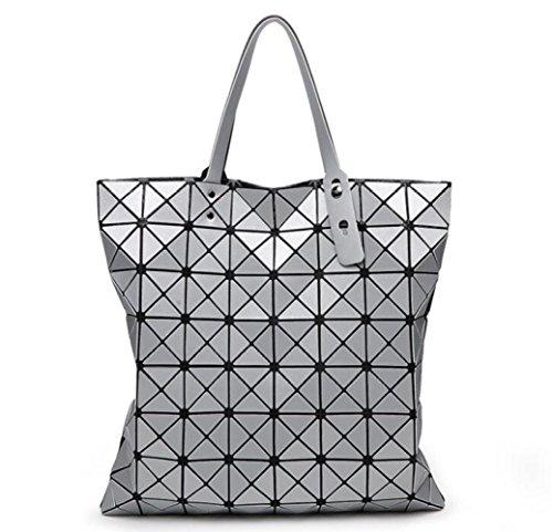 Pliage Sacs Sacs 8 Sacs Main Coutures Printemps WLFHM Géométriques 8 Mat Sacs Silver Et Bandoulière à été à 8AxPvxqw