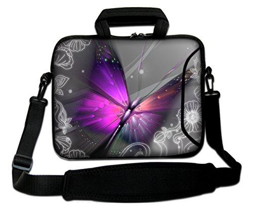 butterfly and Pro Pro Apple MacBook Handle MacBook Case iBook With Shoulder Sleeve Laptop Strap Bag MacBook Flashy PowerBook MacBook Design Notebook for Soft Retina MacBook Unibody Aluminum Air qKHpw8UT