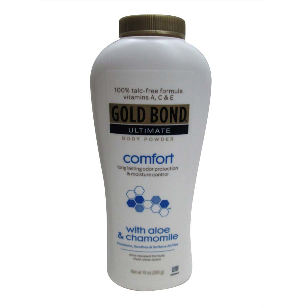 Gold Bond Ultimate Body Powder Comfort with Aloe - 10 oz, Pack of 6 CHATTEM INC