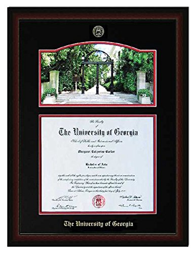 Amazon.com - Athens Art and Frame Embossed Diploma Frame with Arch ...