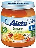 Alete Gemüse-Lasagne, 6er Pack (6 x 250 g)