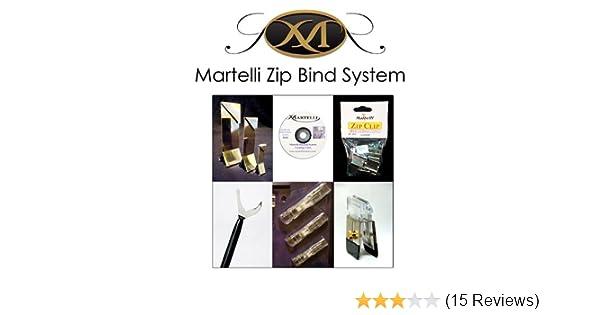 Martelli Zip Bind System in Handy Cloth Bag