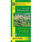 Naturpark Pfälzerwald /Grünstadt und Stumpfwald mit Leiningerland (WR): Naturparkkarte 1:25 000 mit Wander-und Radwanderwegen (Freizeitkarten Rheinland-Pfalz 1:15000 /1:25000)