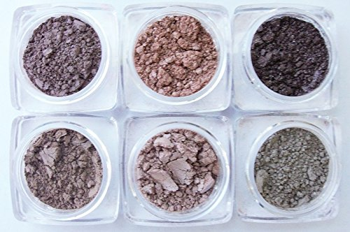 Grace My Face Minerals- New Eyeshadow Collection- (Mica Black Lid)