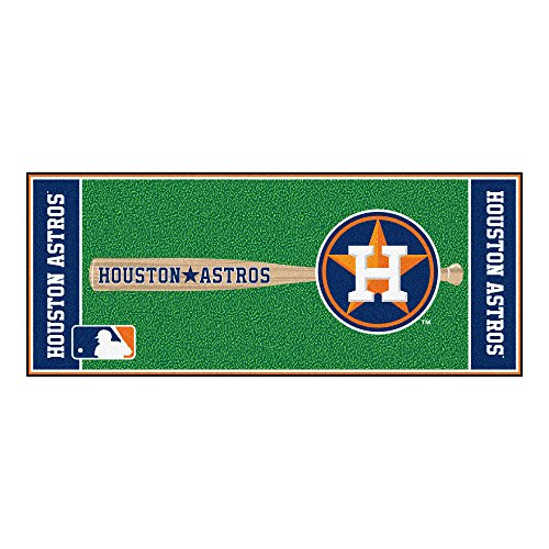 FANMATS MLB Houston Astros Nylon Face Football Field Runner