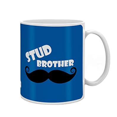 Indigifts Rakshabandhan Gifts For Brother Stud Brother Quote Blue