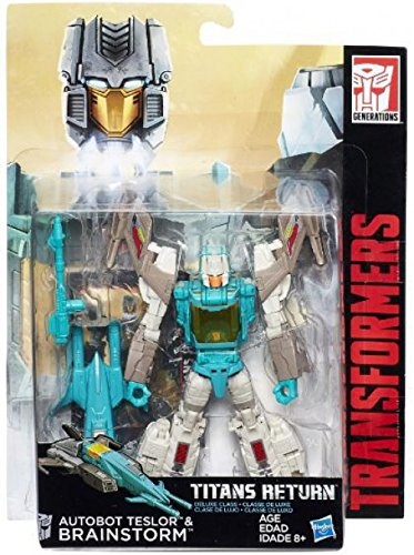 Amazon Com Hasbro Transformers Titans Return Brainstorm Autobot