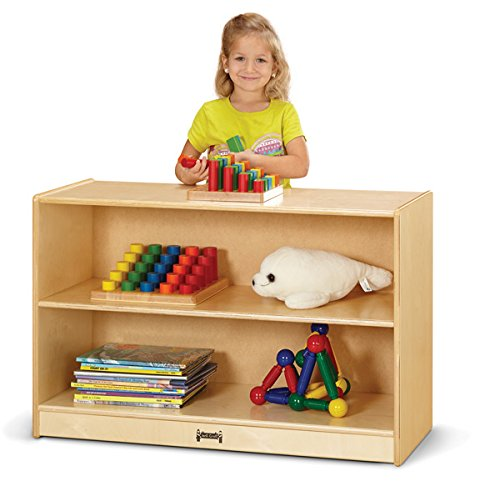 Jonti-Craft 0523JC Short Fixed Straight-Shelf Bookcase