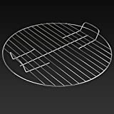 Marko Outdoor Barbecue Grill Grid BBQ Replacement Spare Outdoor Garden Patio Cooker Party Food (Round 41.5cm)