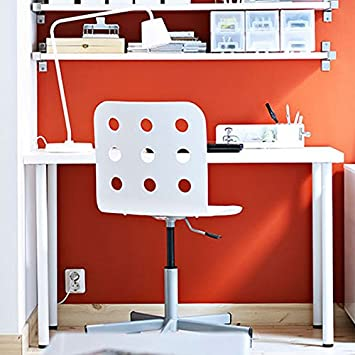 ikea office desk white new computer table furniture hacks