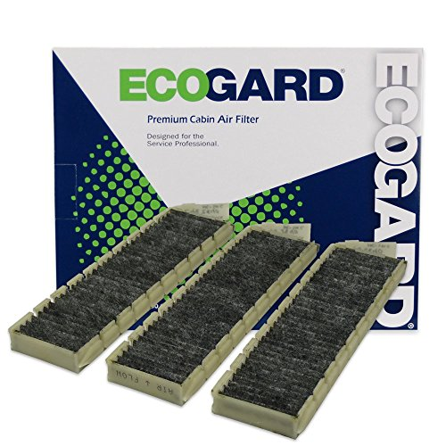 ECOGARD XC35409C Cabin Air Filter with Activated Carbon Odor Eliminator - Premium Replacement Fits Buick Park Avenue / Cadillac Seville