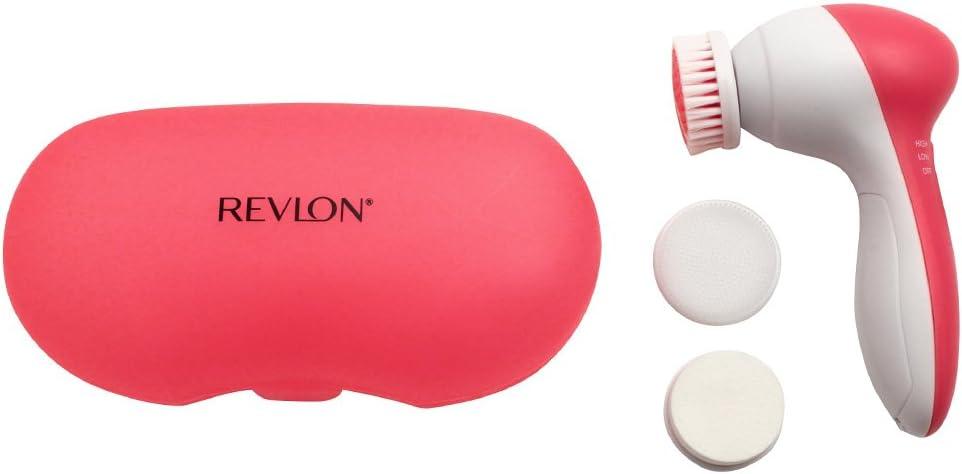 Revlon RVSP3512 Advanced Facial Cleansing System, Pink/White