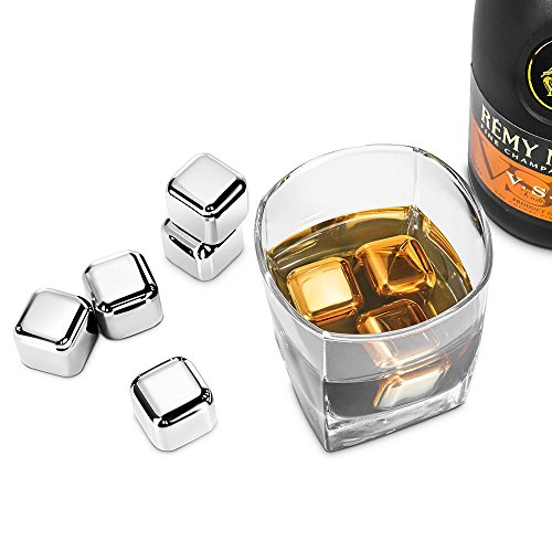 Whiskey-Stones-RIVERSONG-Stainless-Steel-Reusable-Ice-Cubes-Chilling-Stones-Rocks-for-Wine-Beer-Beverage-FDA-approved-Set-of-8