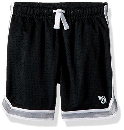 Osh Kosh Boys' Kids Mesh Shorts, Black, 4-5 (Shorts Youth Boys Athletic)