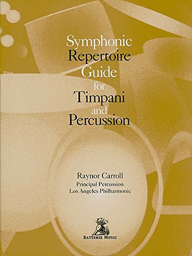 Guide for Timpani and Percussion ()