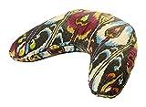 Hugger Mugger V-Shape Cushion, Bohemian Ikat