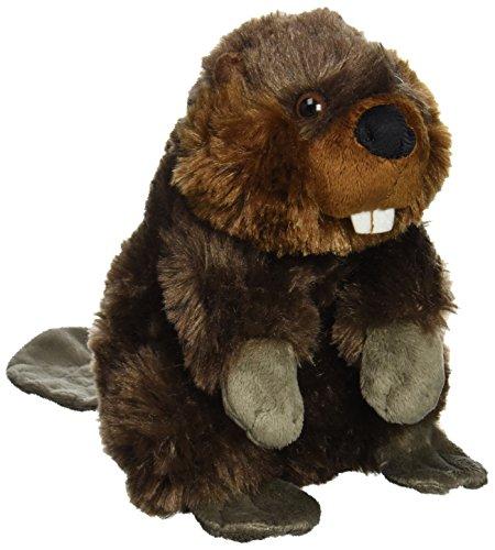 Wild Republic Beaver Plush, Stuffed Animal, Plush Toy, Gifts for Kids, Cuddlekins 8 Inches (Rasta Banana Stuffed Animal)