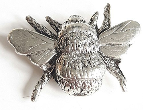 Abeille finement fabriquéà la main en étain massif au Royaume-Uni Pin's (épinglette Badge + Sac cadeau