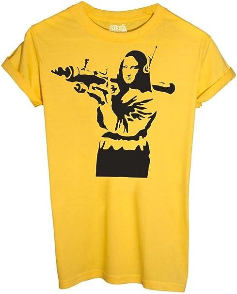 Famosi by Dress Your Style IMAGE T-Shirt Banksy Monalisa