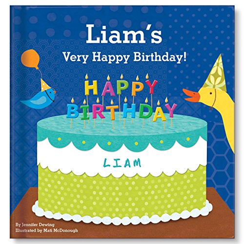 (Personalized Birthday Party Book Boys 1st Birthday Gift)