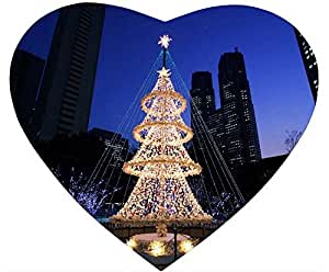 The Beautiful Christmas Tree Lights Mouse Pad Desktop Laptop Mousepads Comfortable Office Mat Cute Gaming Mouse Pad