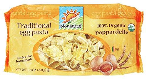 - Bionaturae Organic Egg Tagliatelle, 8.8 oz