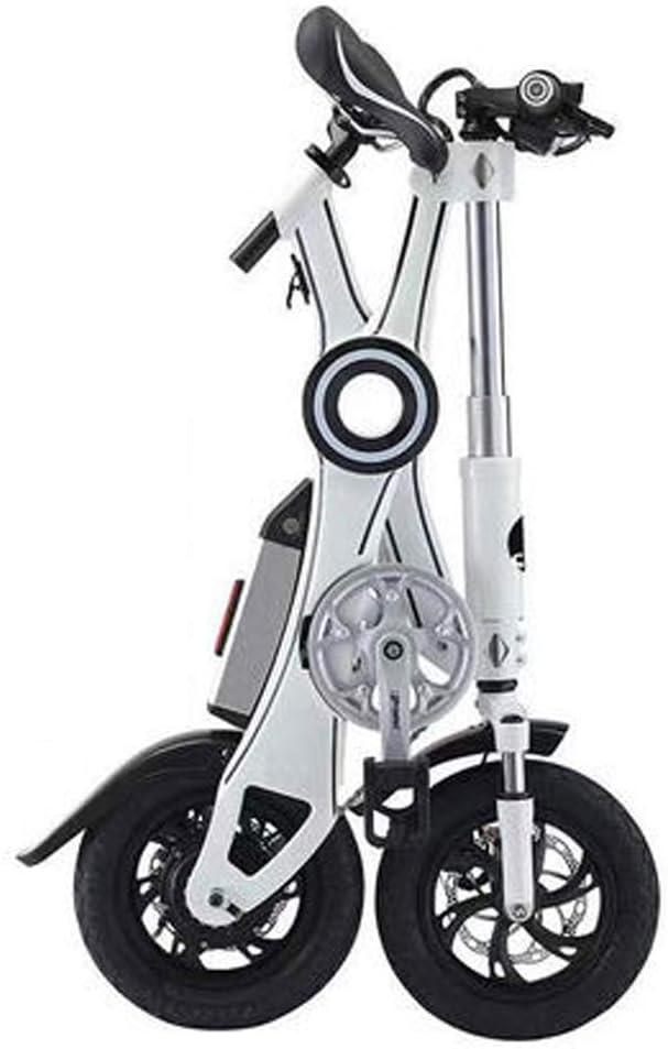 電動自転車通勤やレジャー用の折りたたみ式電動自転車ディスクブレーキ付き男性と女性の自転車36v 7.8ahまたは36v 8.7ahリチウム電池を使用,白,50km 白い 50km